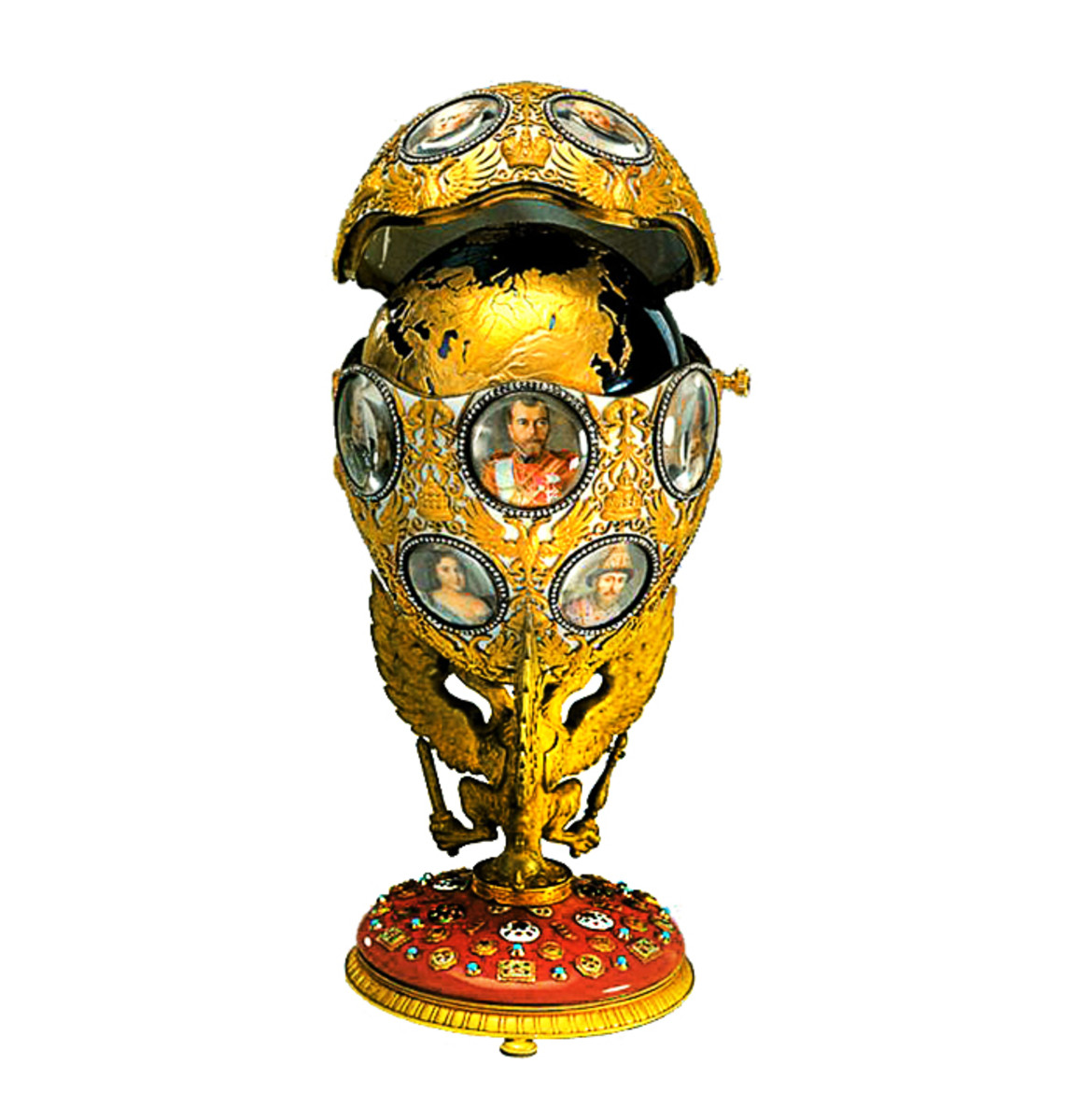 Romanov Tercentenary Egg - 1913