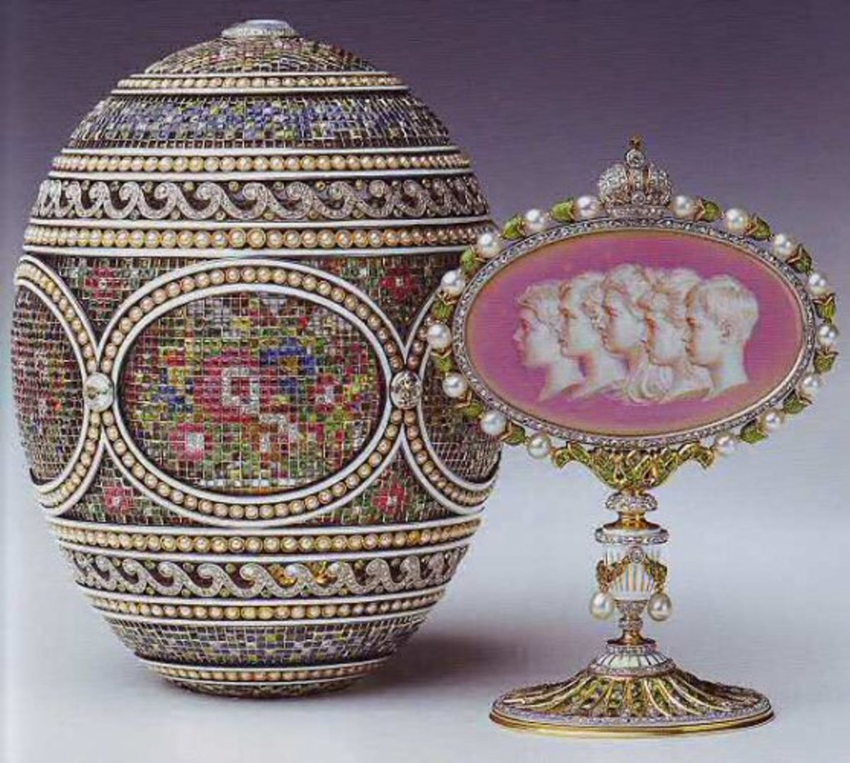 The Mosaic Egg -1914