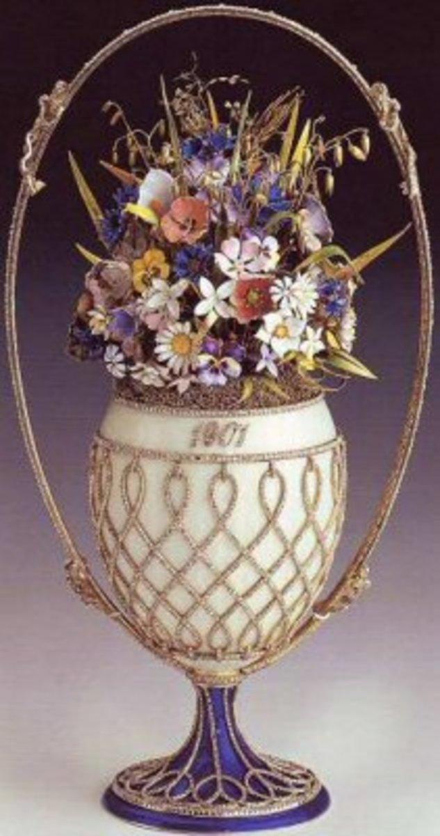 The Flower Basket Egg -1901