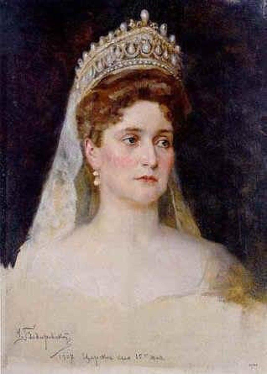 Tsarina Alexandra ( Alix) Nickolaevna