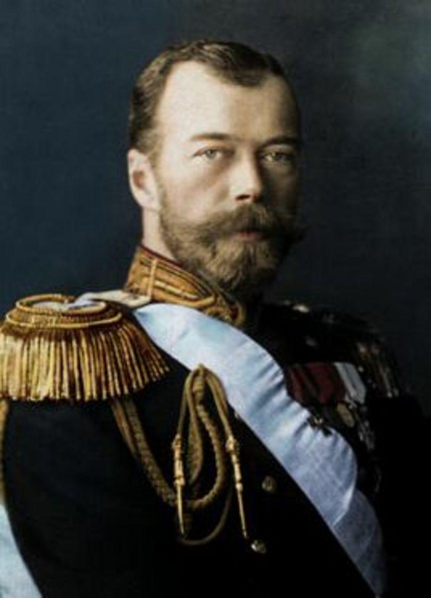 Tsar Nikolai Romanov