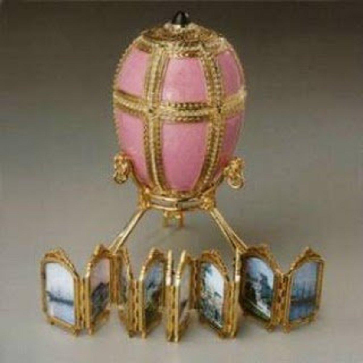 Danish Palaces Egg- 1890