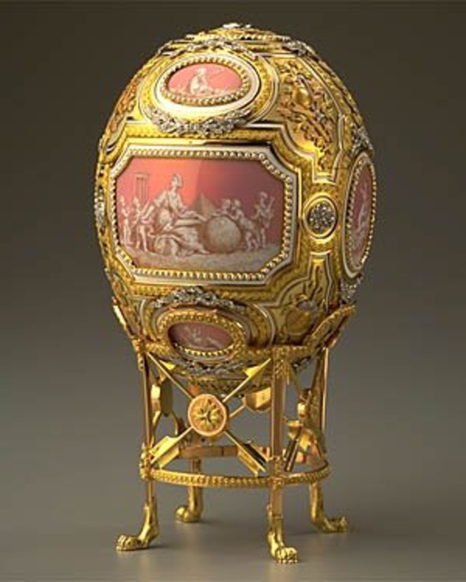 Catherine the Great Egg - 1914