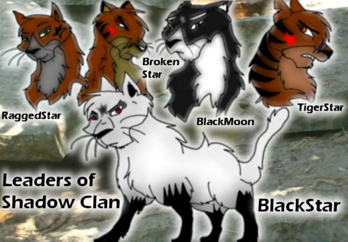 ShadowClan warrior cats