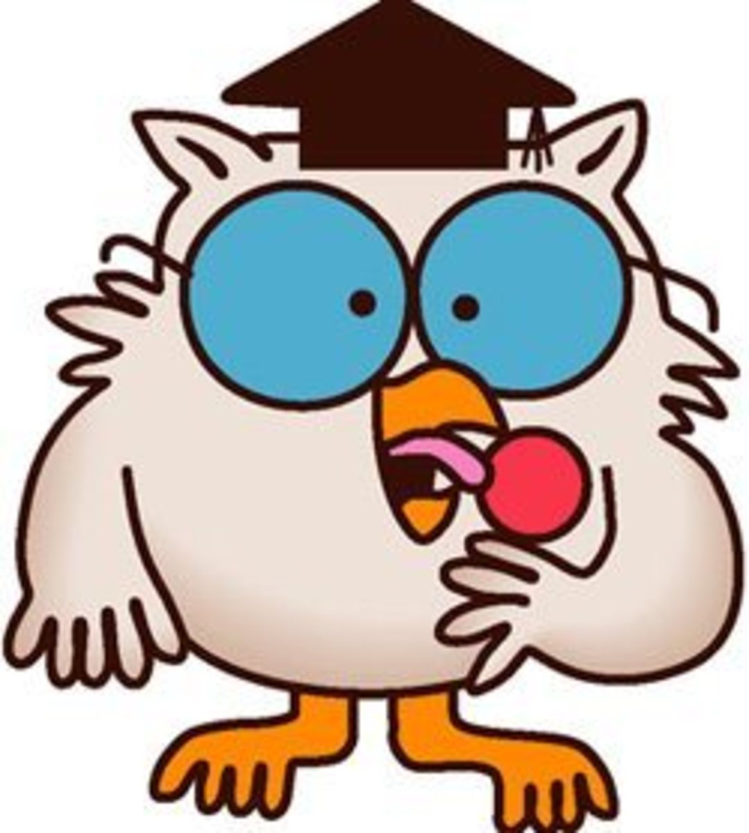 The infamous owl. How many licks does it take?