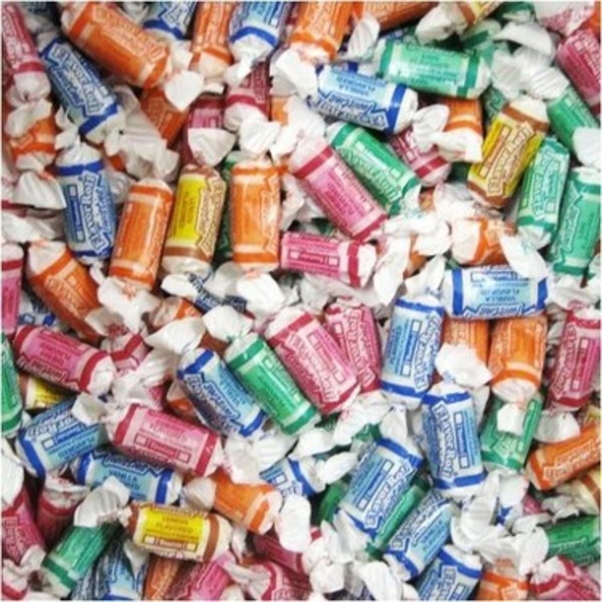 Tootsie rolls come in many different flavors.