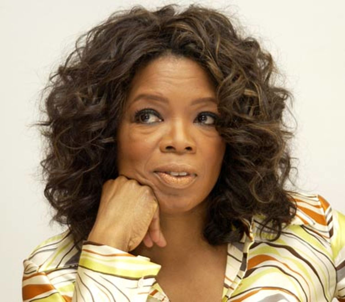 Oprah Winfrey was once told she was unfit to be on television.