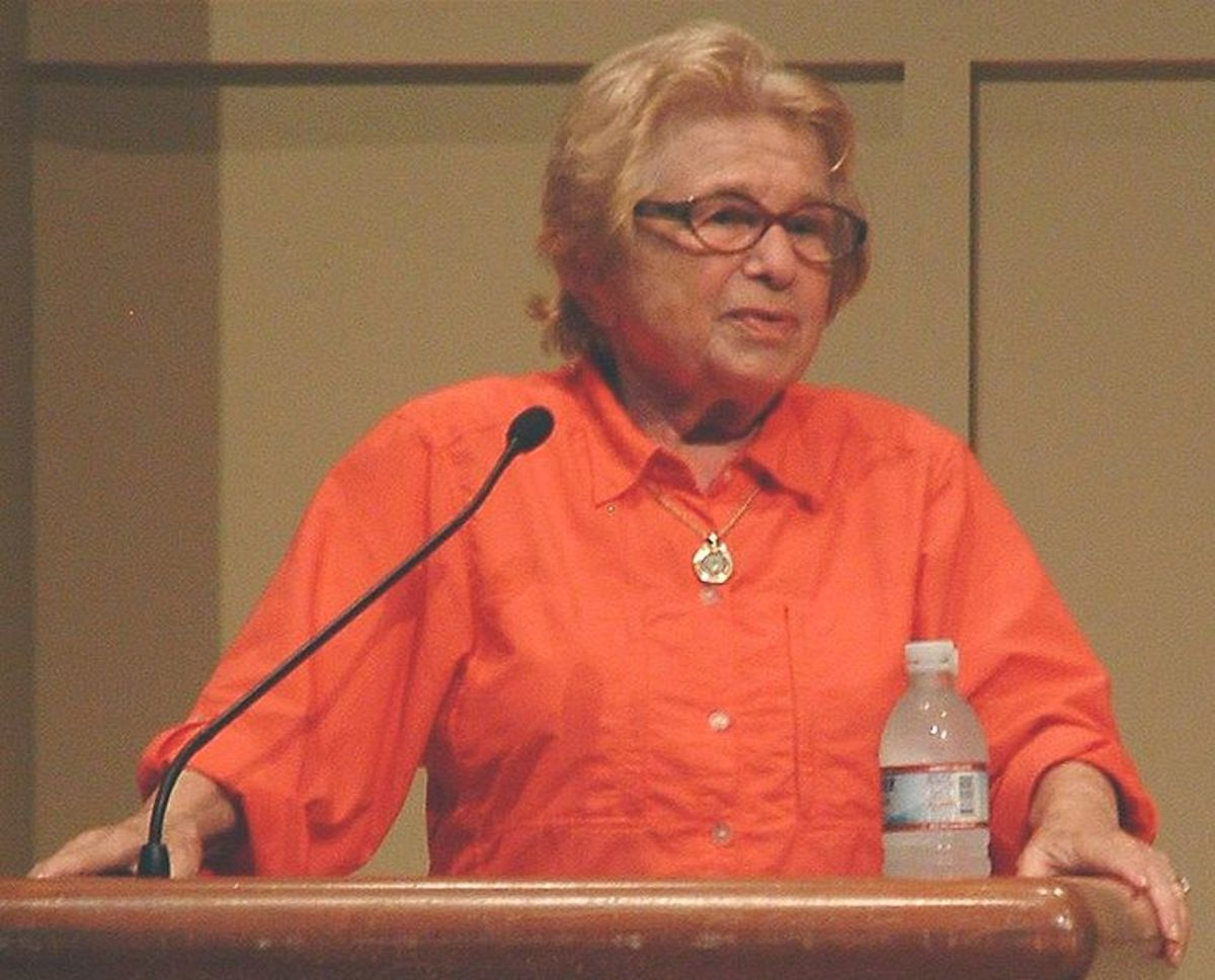 Dr. Ruth Westheimer gained fame at the age of 53, as a sex expert and  continued to teach courses at Yale Universities into her 80's.