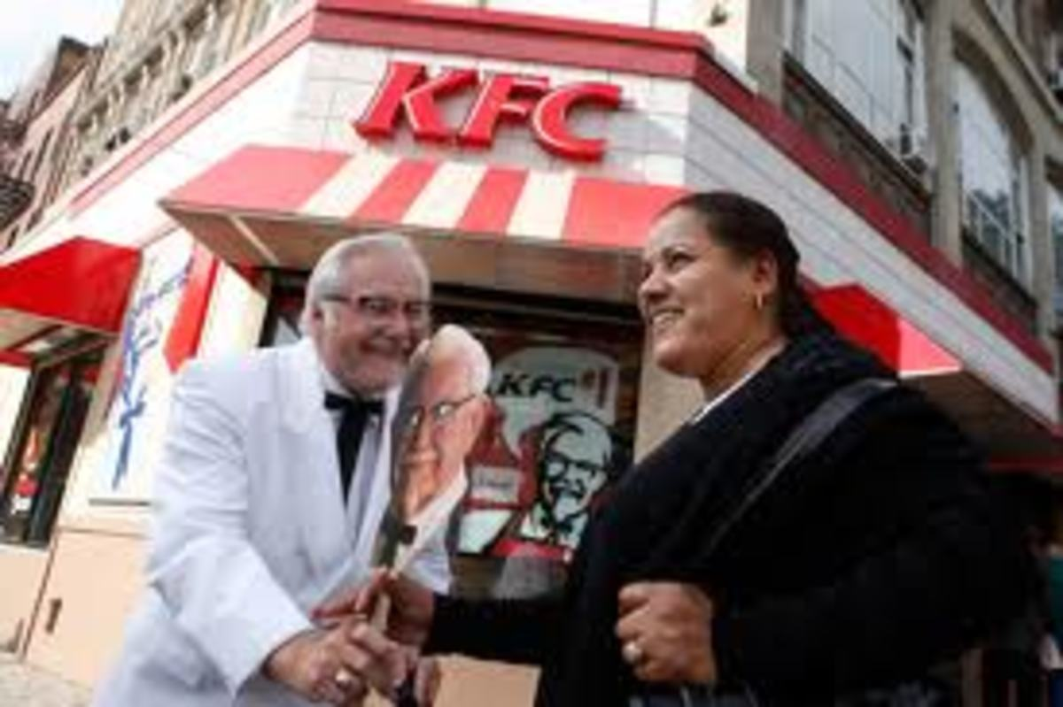 Colonel Sanders and KFC