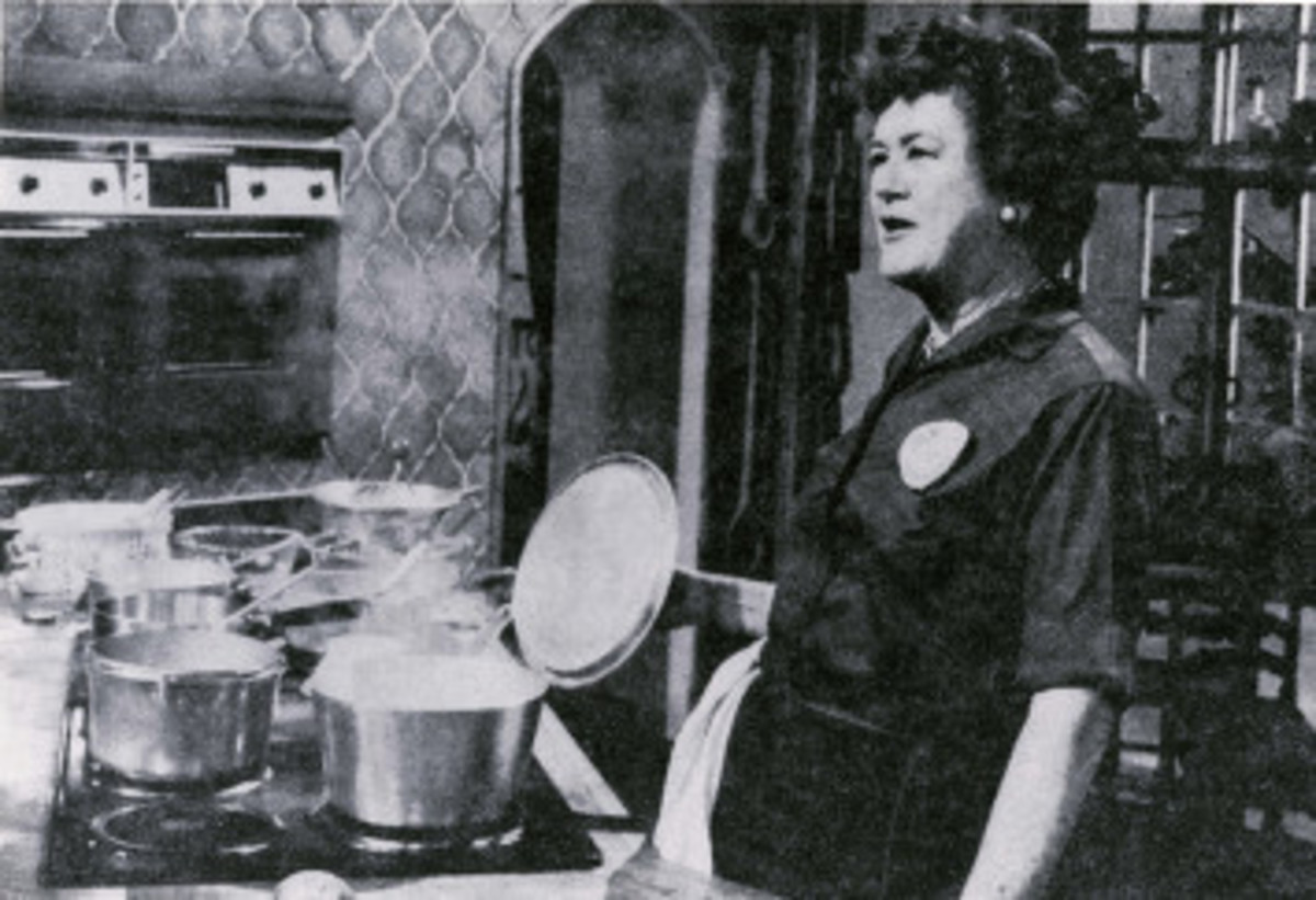 Julia Child was 49 years old when she started to write her cookbooks. At 51, she became a television personality.