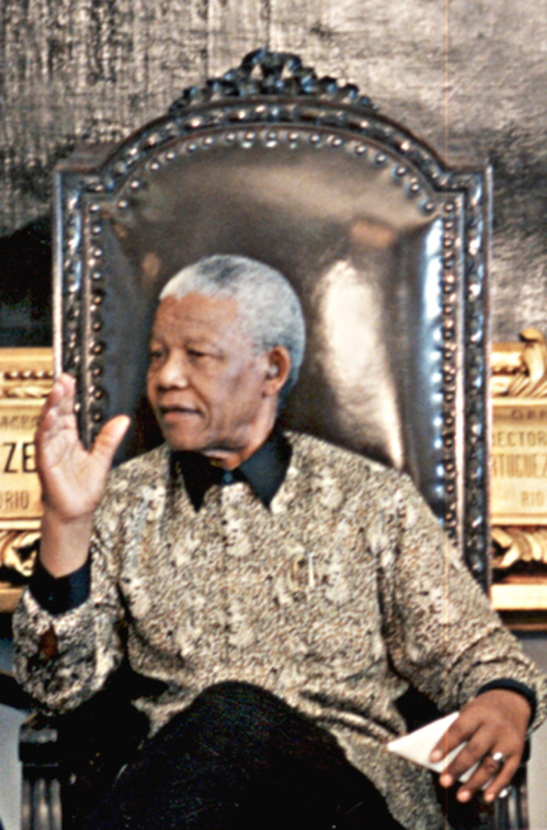 Nelson Mandela became South Africa's oldest President at 74 years old.