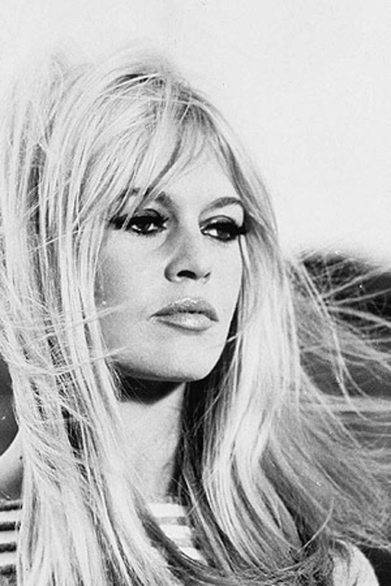 The ultimte 60's sex symbol, Brigitte Bardot