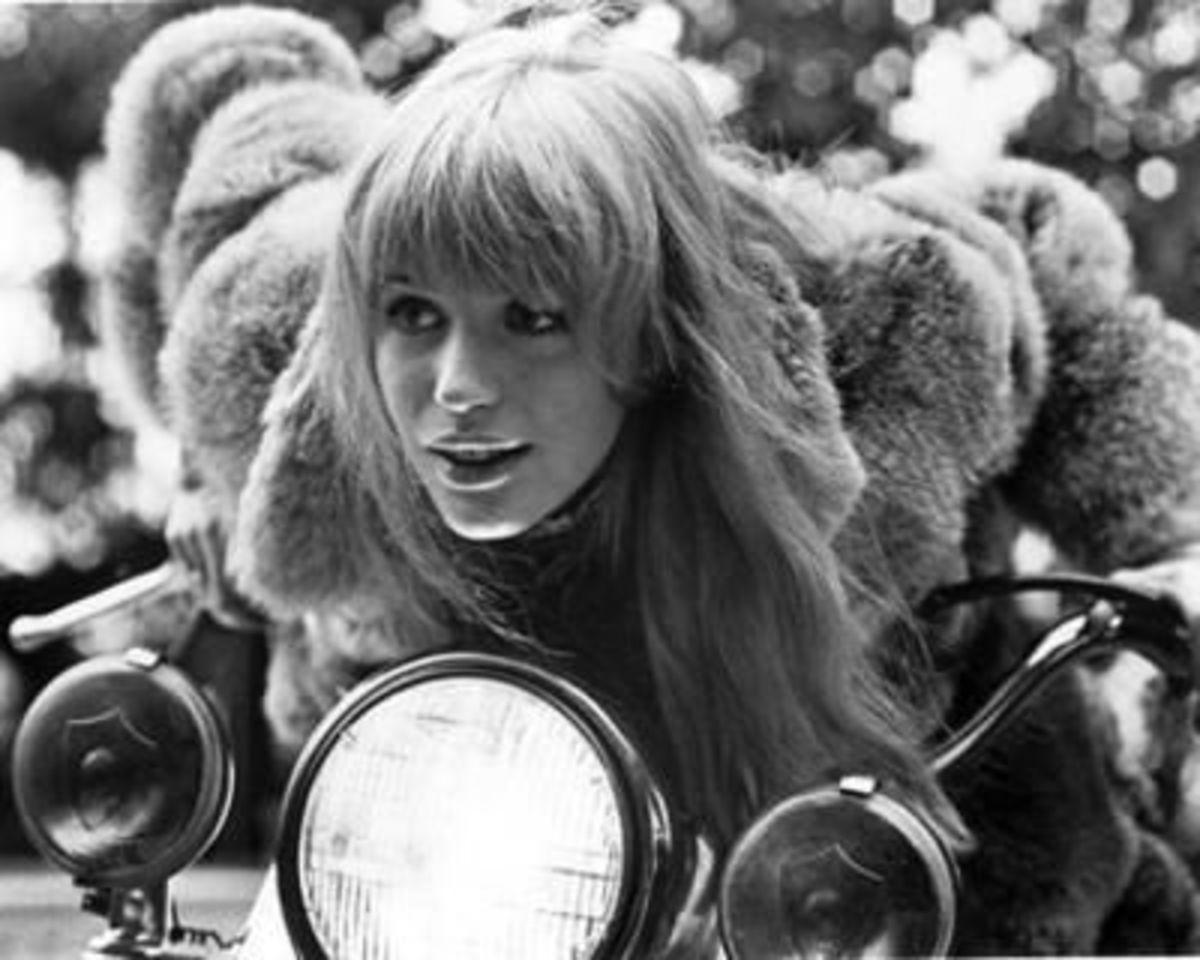 Singer and former girlfriend of Mick Jagger, Marianne Faithfull