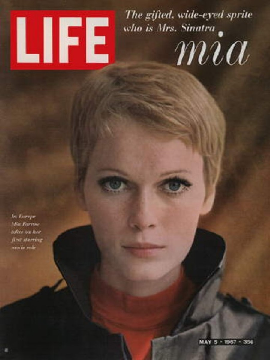 Mia's radical hair made it onto the cover of Life Magazine