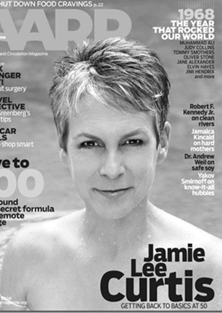 Jamie Lee Curtis on AARP Magazine Cover - 2013 Short Hairstyles for Women - Hair Cuts Styles Trends