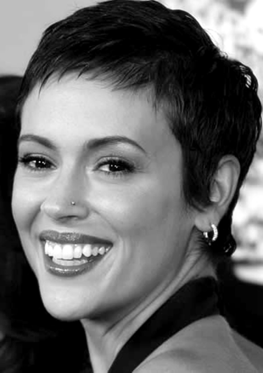 Alyssa Milano - 2013 Short Hairstyles for Women - Hair Cuts Styles Trends