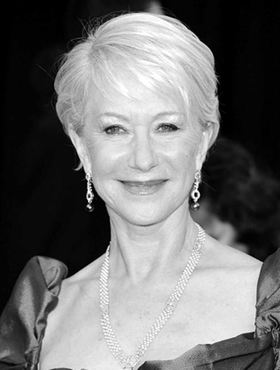 Helen Mirren - 2013 Short Hairstyles for Women - Hair Cuts Styles Trends