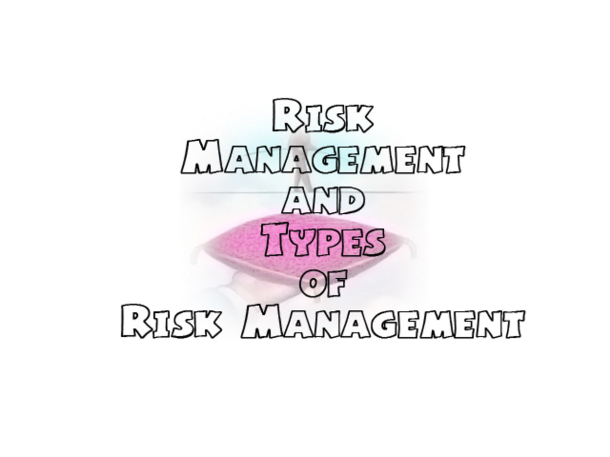 Risk Management and Different Types of Risk Management
