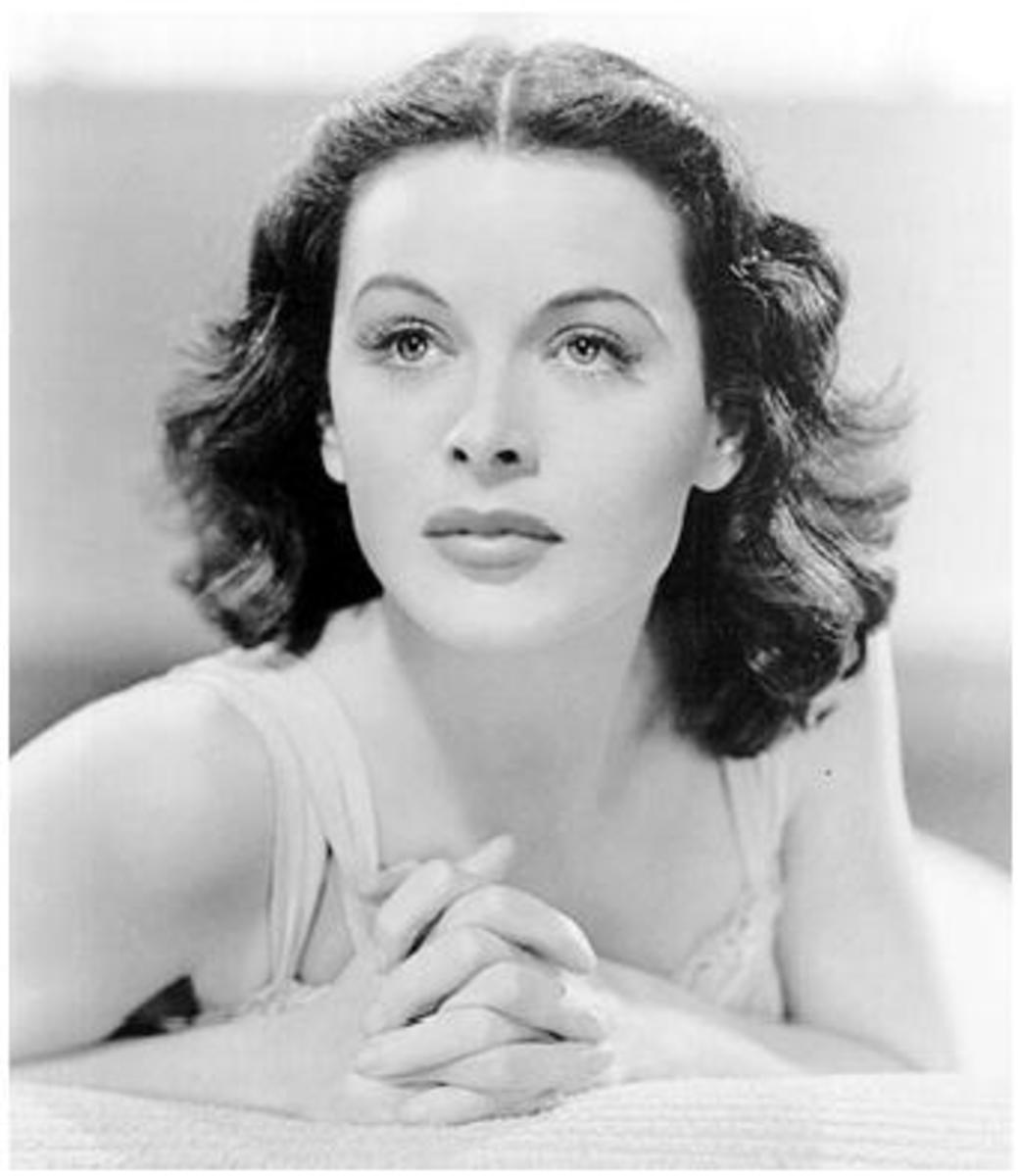 The glamorous Hedy Lamarr