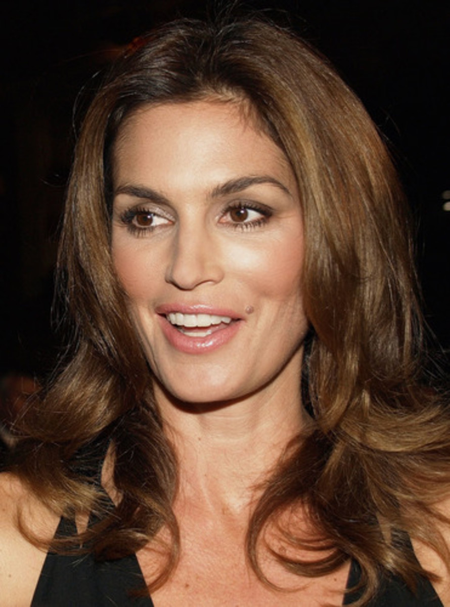 Cindy Crawford, former model and now businessperson, is one of the most beautiful women in the world.