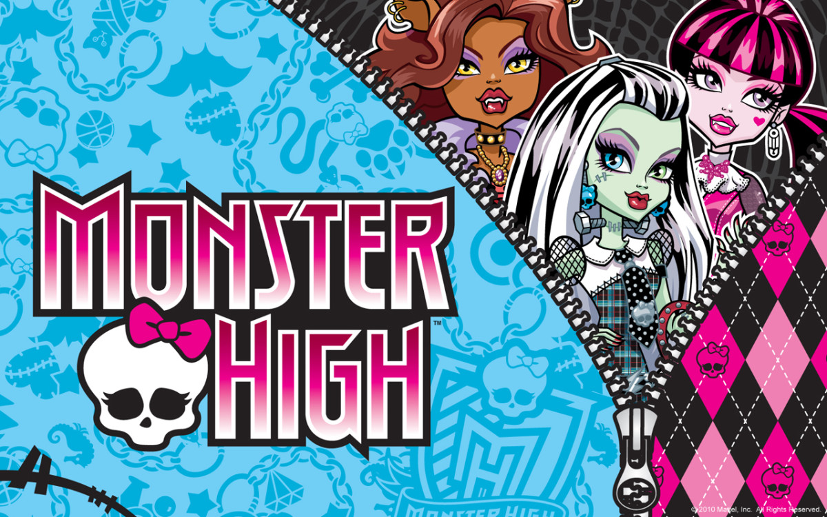 Monster High Coloring Pages for Children