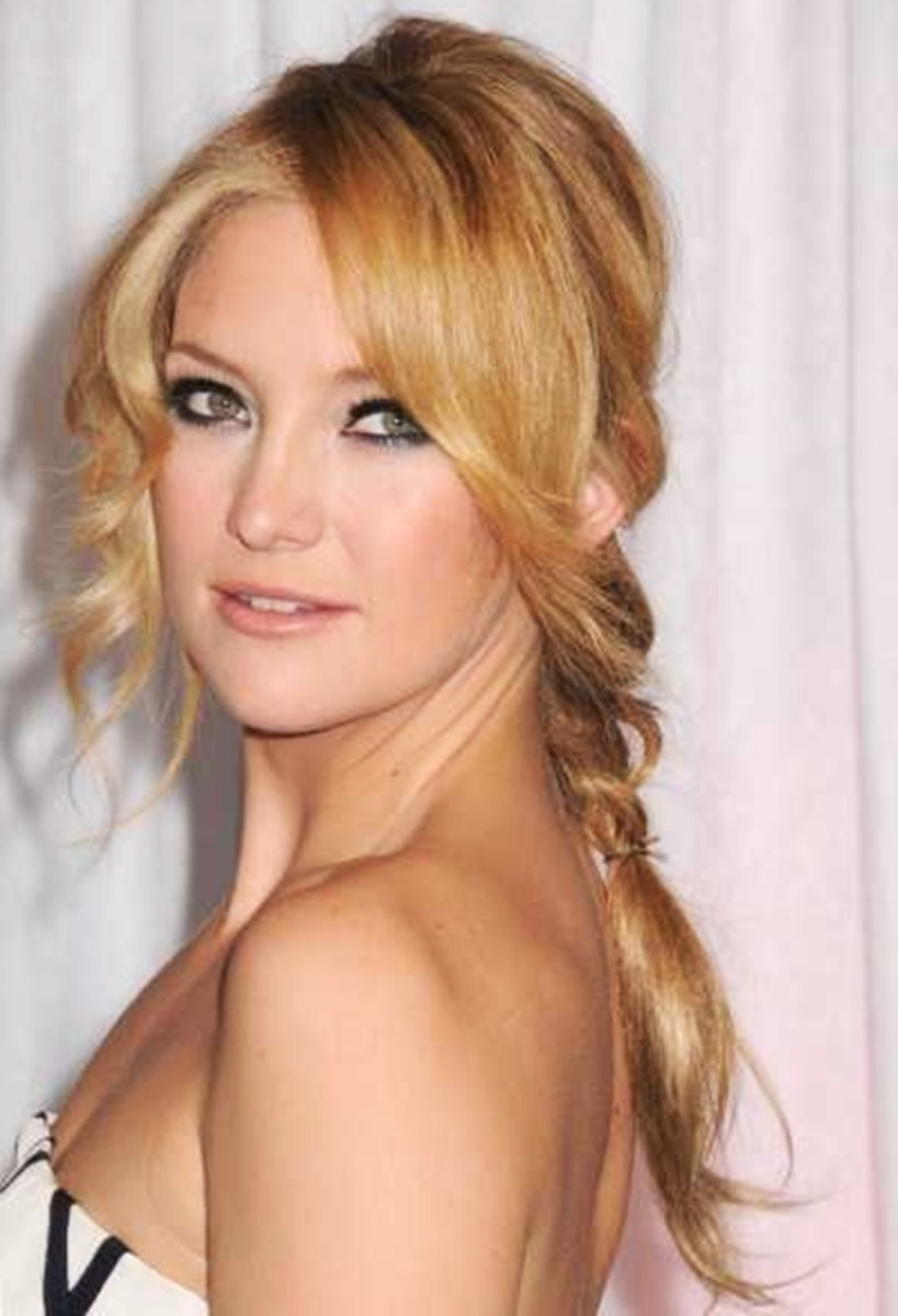 Kate Hudson - 2013 Braided Hairstyles - Fun Braids and Braided Updo Hair Styles
