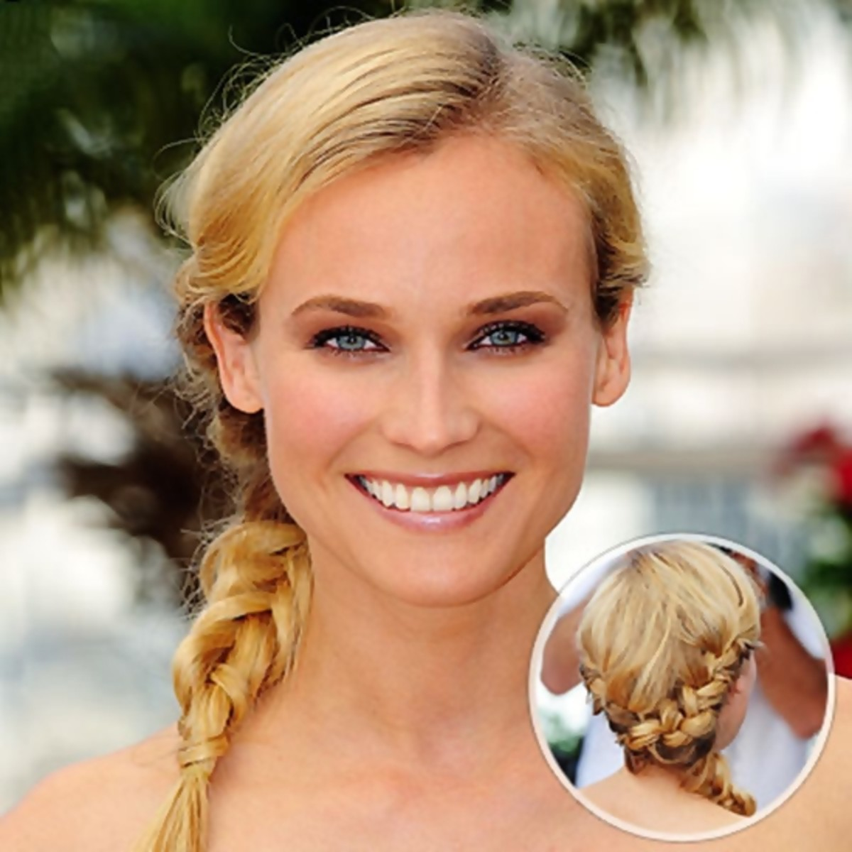 Diane Kruger - 2013 Braided Hairstyles - Fun Braids and Braided Updo Hair Styles