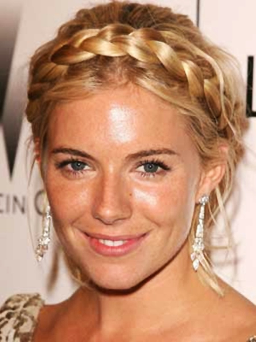 Sienna Miller - 2013 Braided Hairstyles - Fun Braids and Braided Updo Hair Styles
