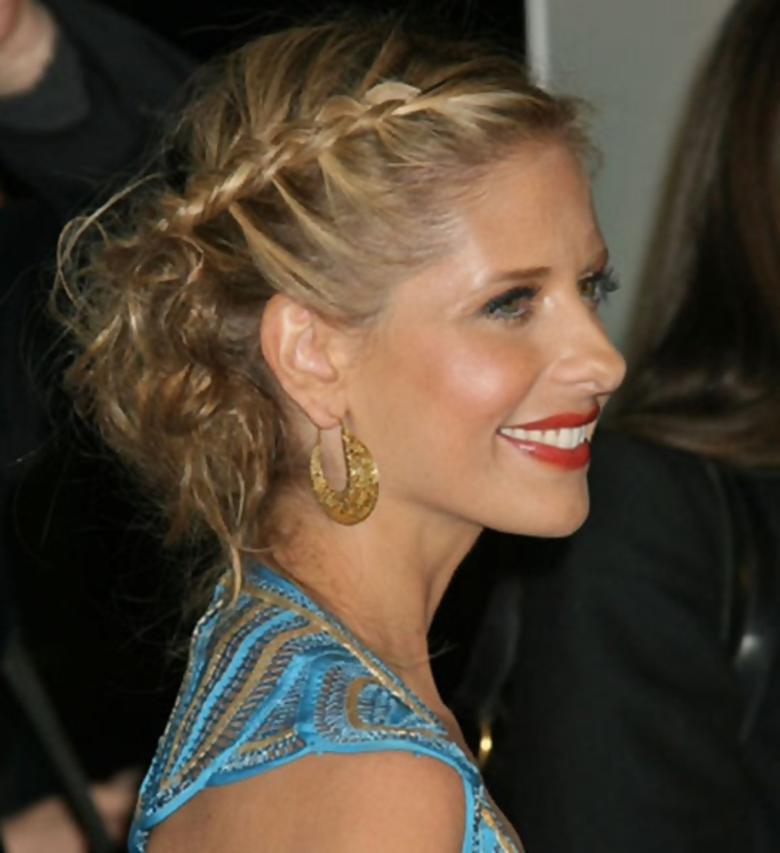 Sarah Michelle Gellar - 2013 Braided Hairstyles - Fun Braids and Braided Updo Hair Styles