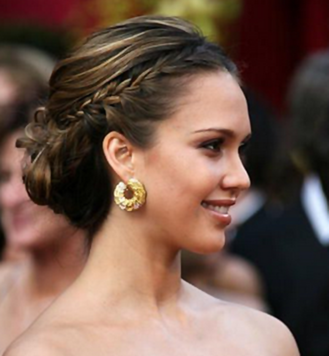 Jessica Alba - 2013 Braided Hairstyles - Fun Braids and Braided Updo Hair Styles