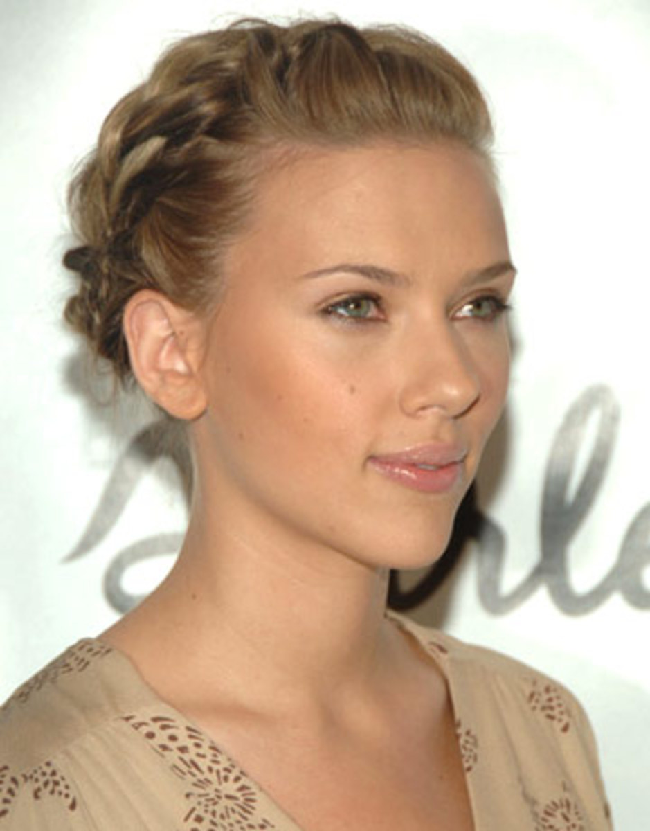 Scarlett Johansson - 2013 Braided Hairstyles - Fun Braids and Braided Updo Hair Styles