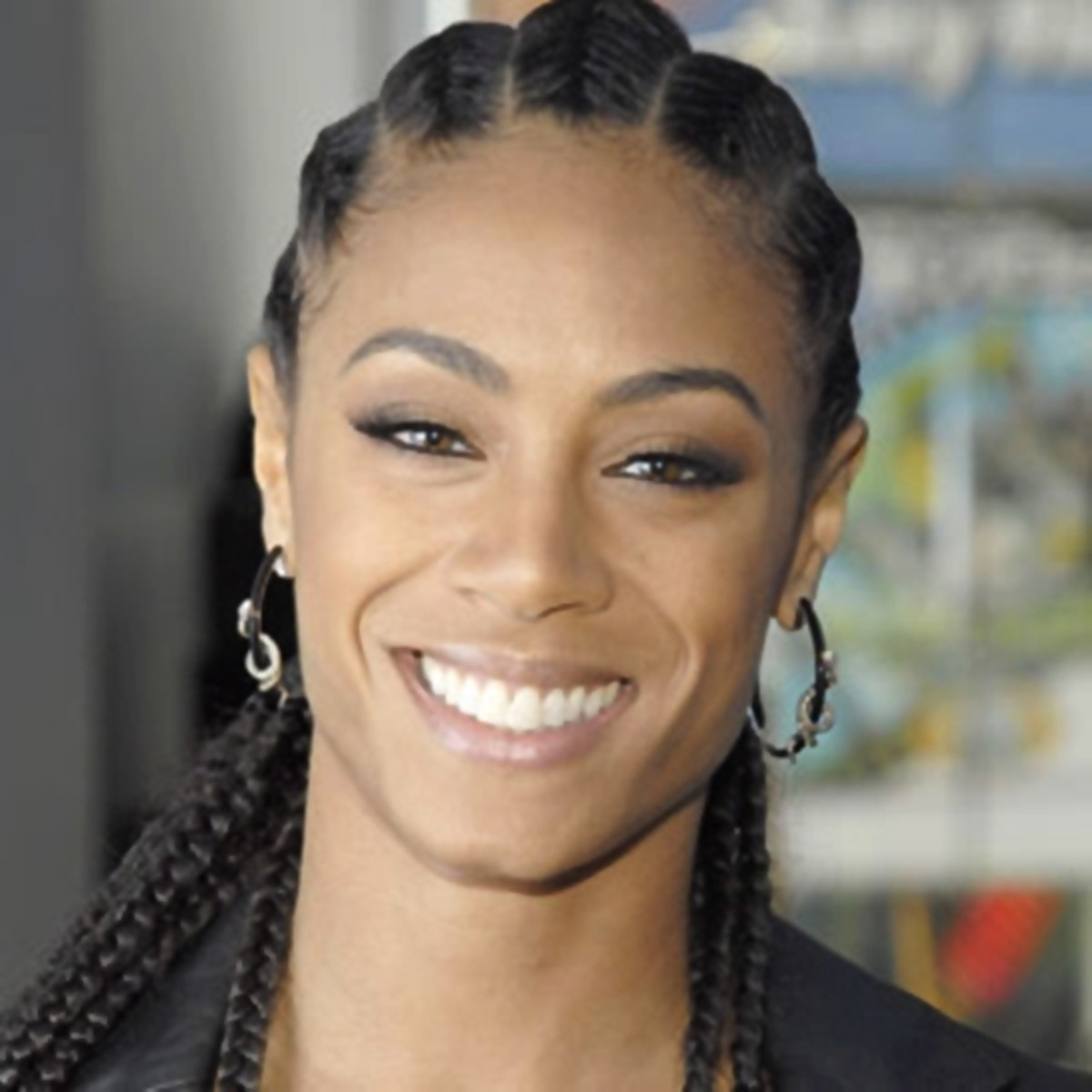 Jada Pinkett  - 2013 Braided Hairstyles - Fun Braids and Braided Updo Hair Styles
