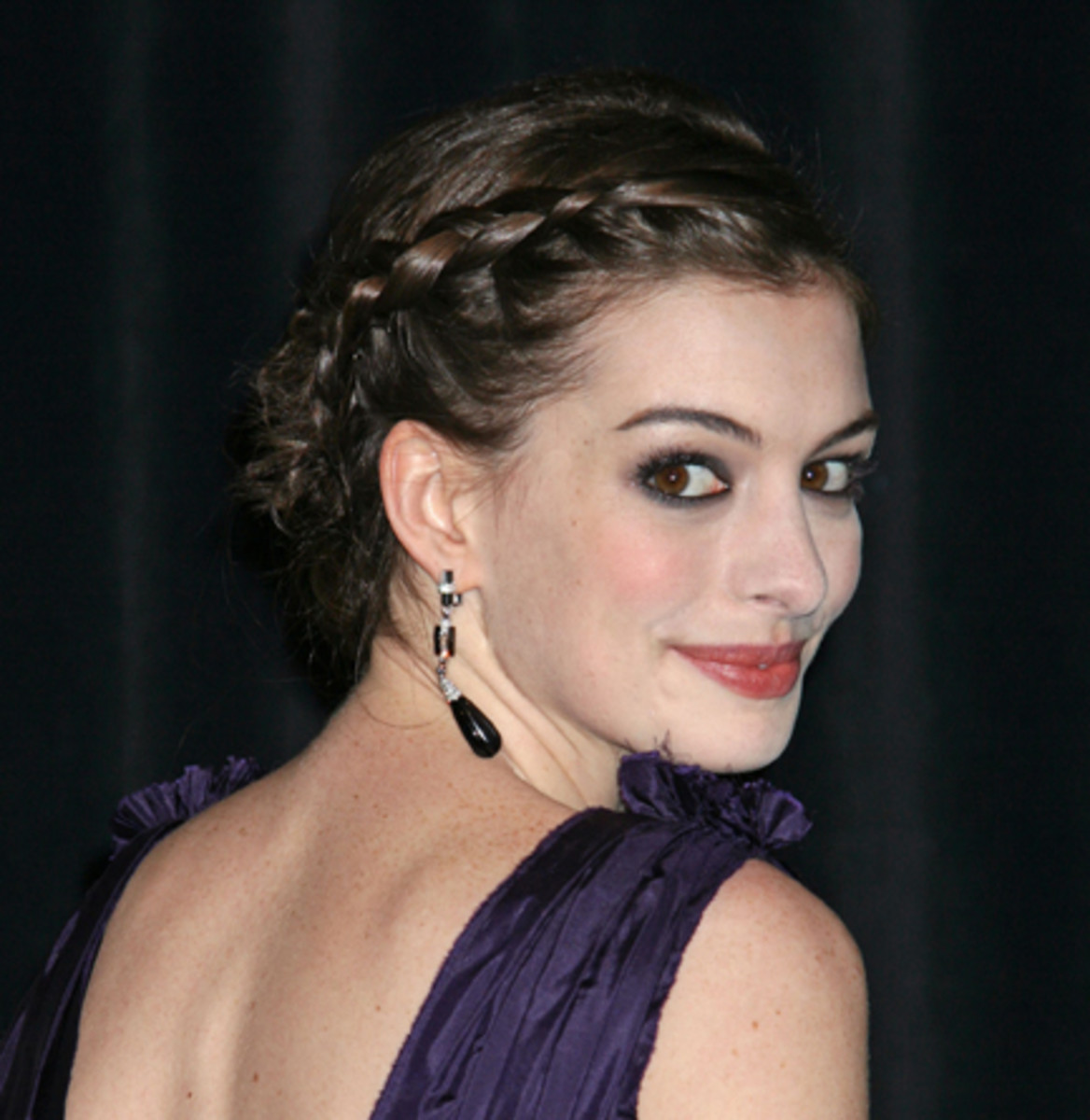 Anne Hathaway - 2013 Braided Hairstyles - Fun Braids and Braided Updo Hair Styles