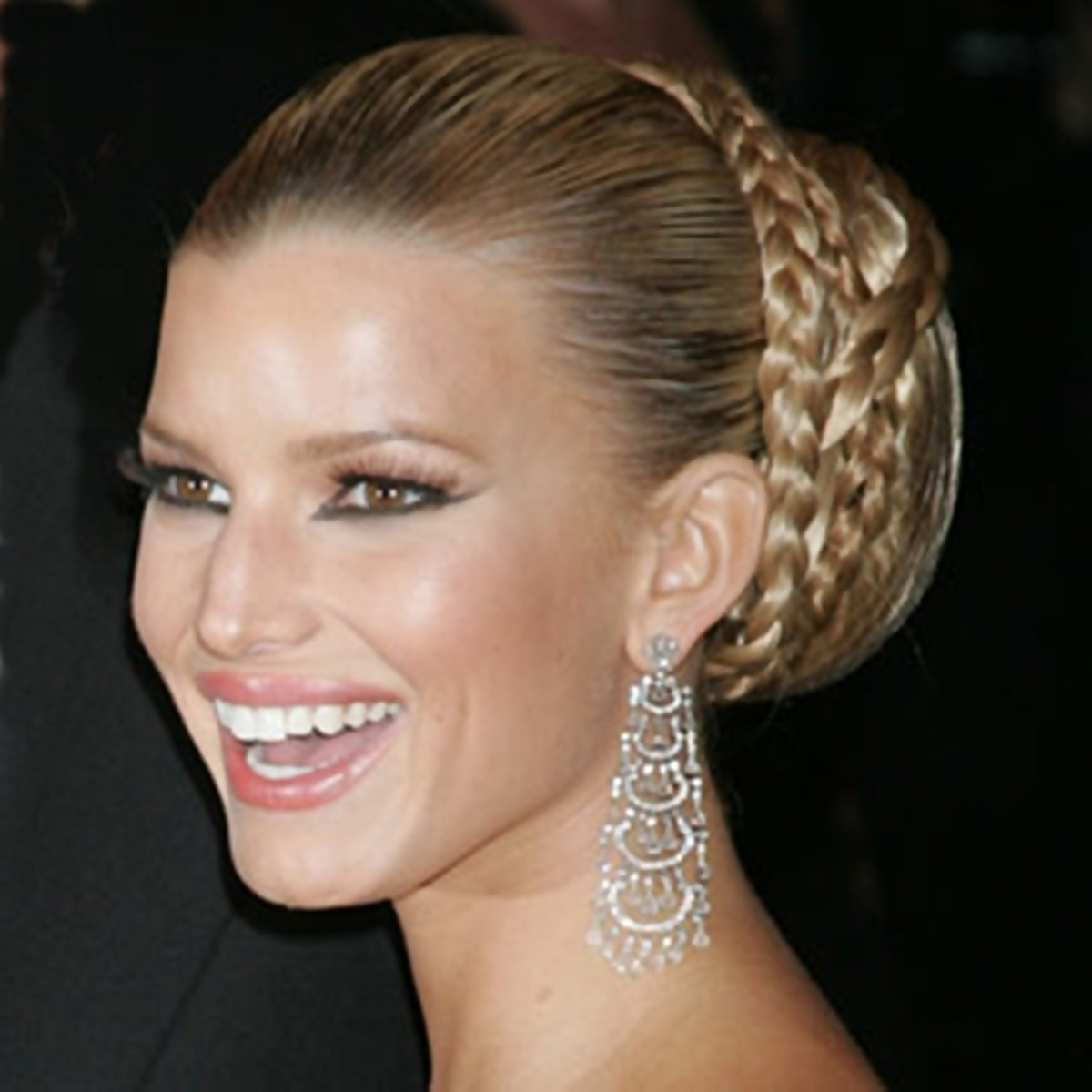 Jessica Simpson - 2013 Braided Hairstyles - Fun Braids and Braided Updo Hair Styles