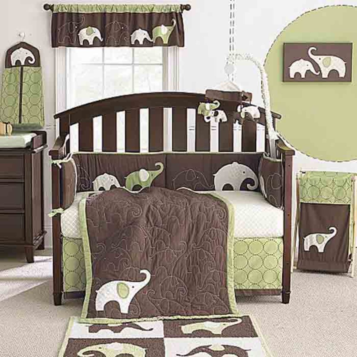 Decorating ideas for a baby boy nursery for Baby rooms decoration ideas