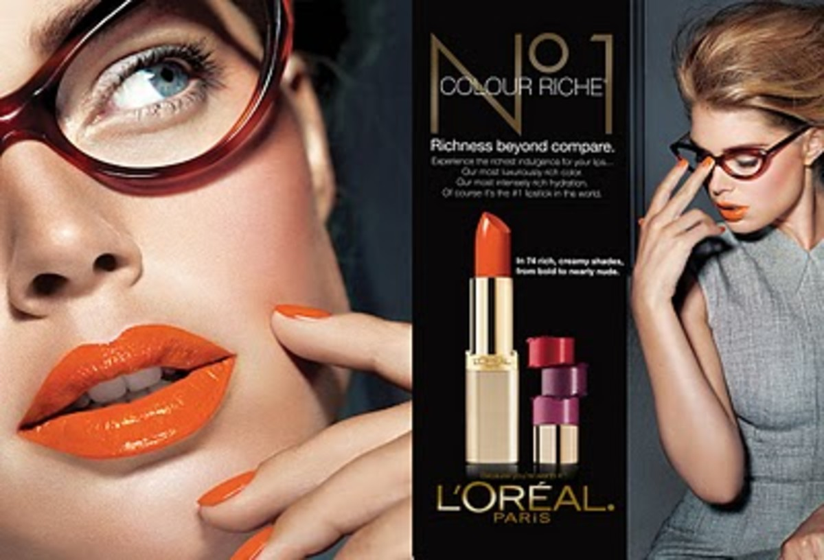 How To Wear Orange Lipstick: Summer Makeup Trends