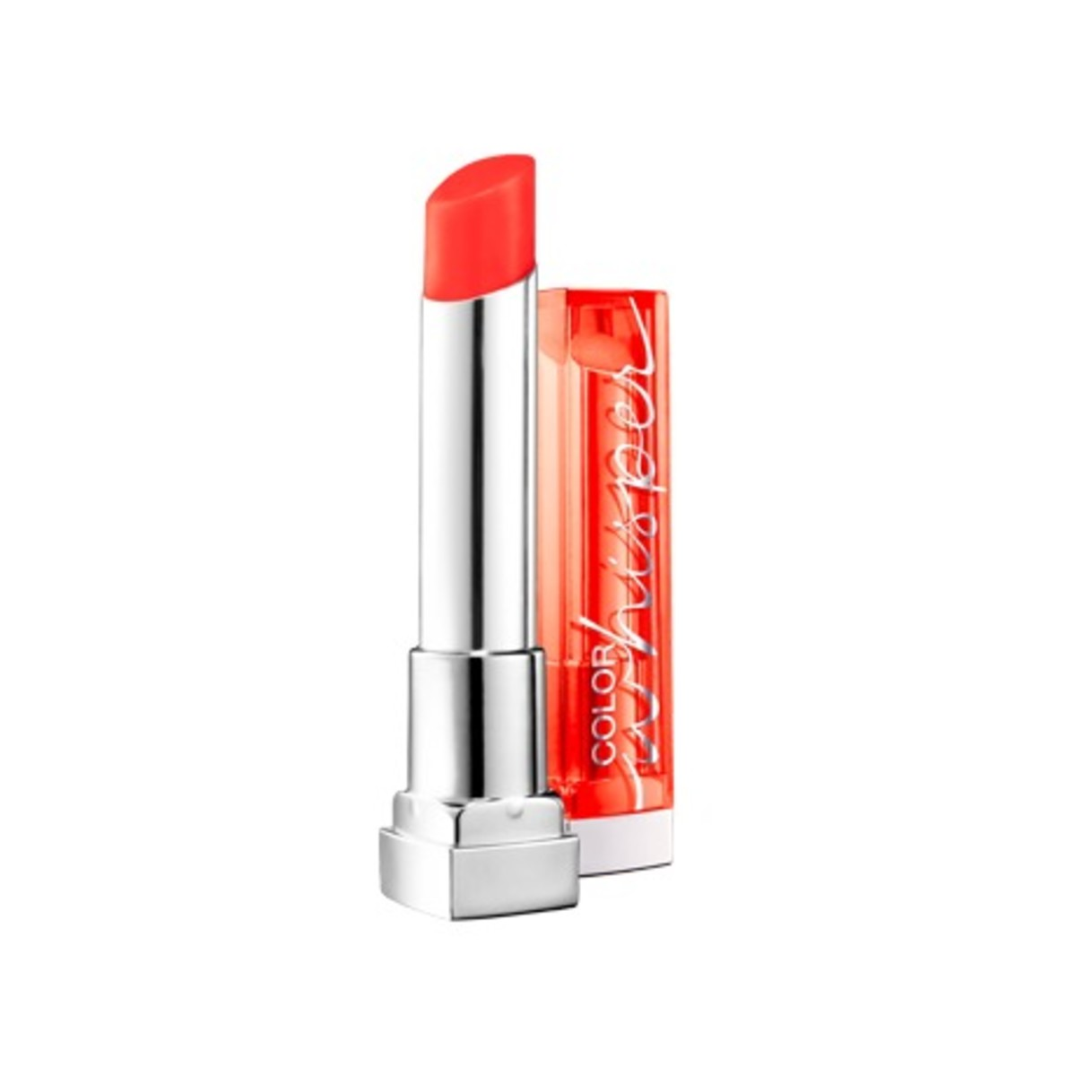 Maybelline Color Whisper Lipstick in Orange Attitude