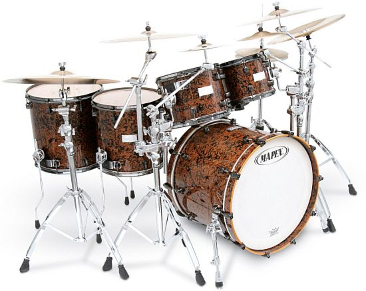Many drummers start off with Mapex instead of Gammon, but the only drawback is that some lose interest in the art and waste their money on the expensive top-tier set.