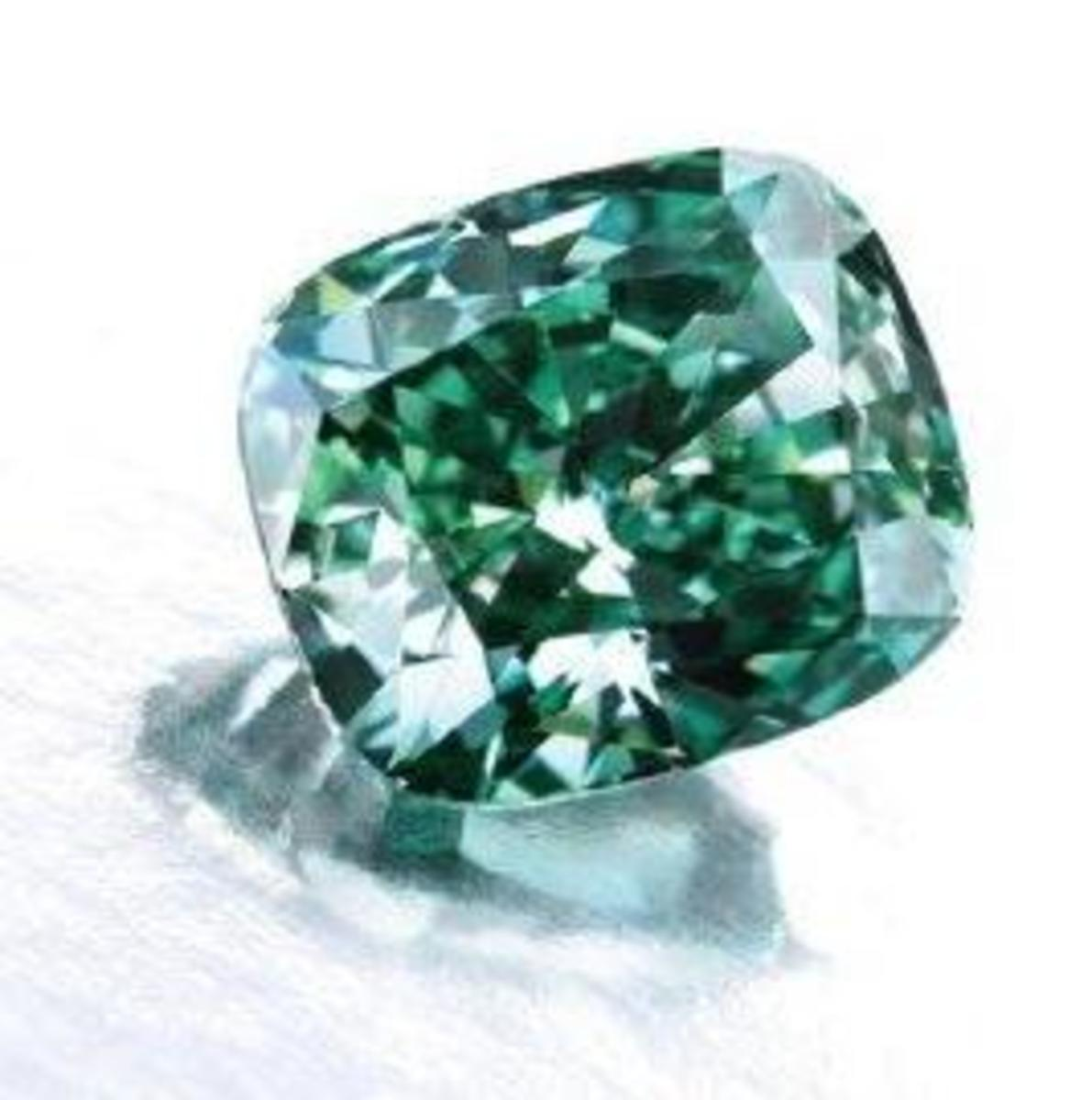 Green Diamonds- Rare and Beautiful