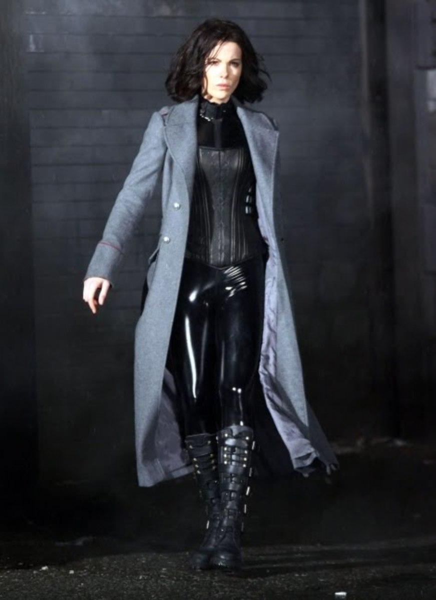 Kate Beckinsale in Underworld 4.
