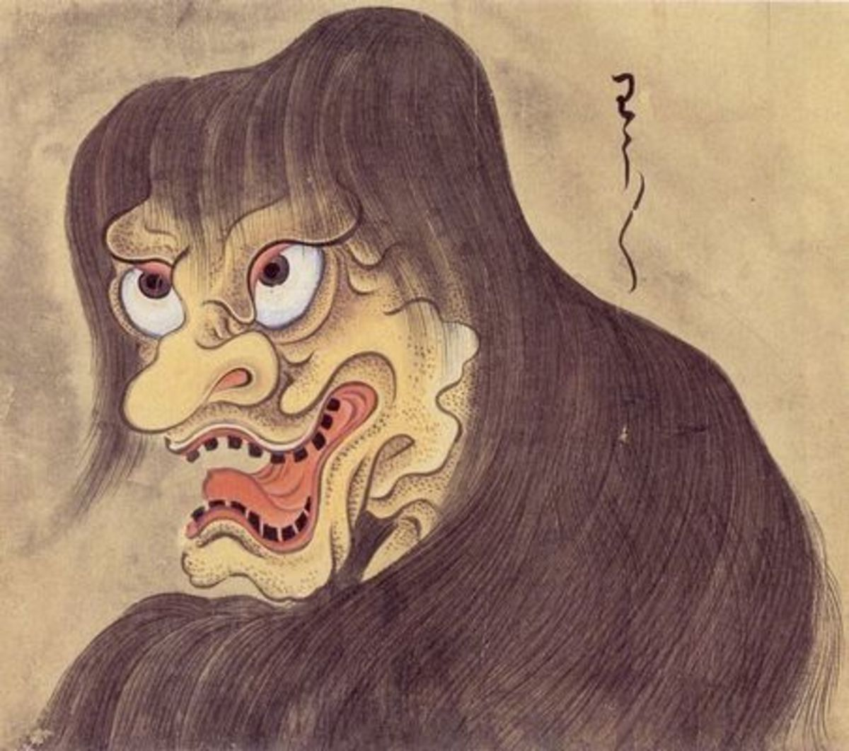 Japanese Ghosts and Monsters