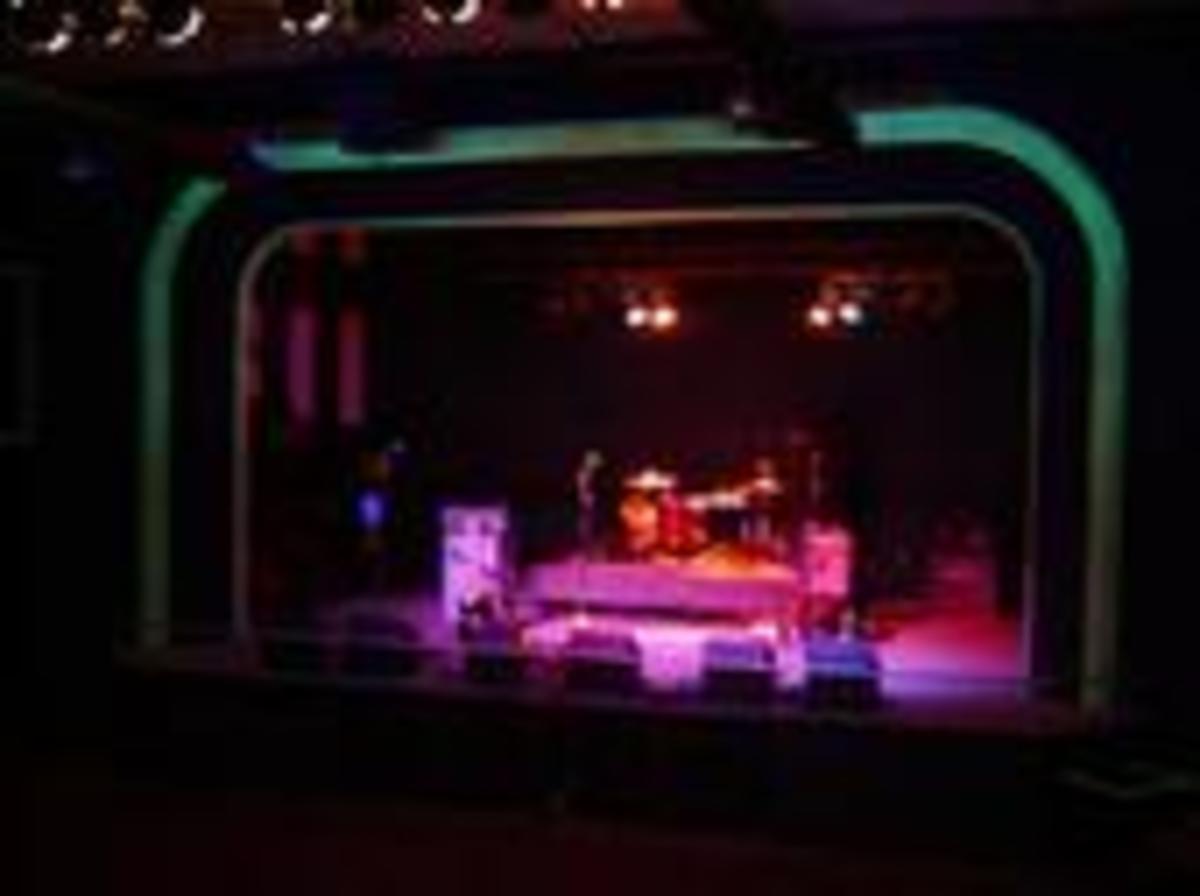 The Hawthorne Theater, pre show. Portland, Oregon
