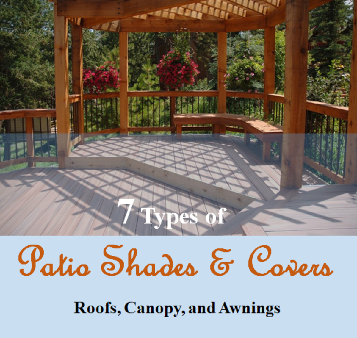 7 Patio Shades and Covers – Roofs, Canopy, and Awnings