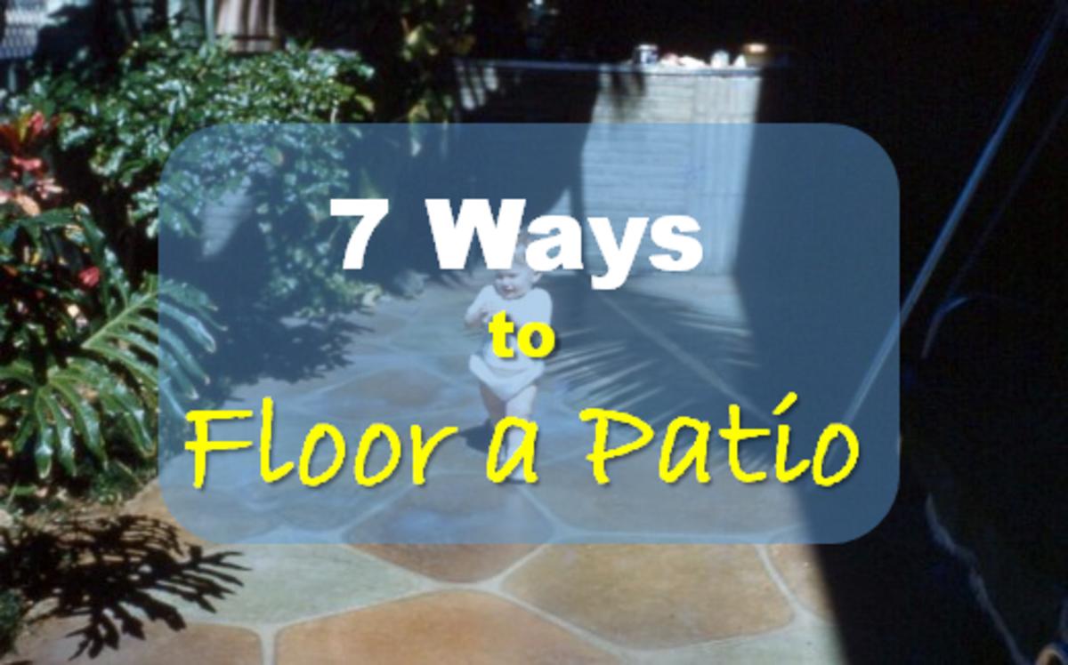 7 Different Patio Flooring Techniques