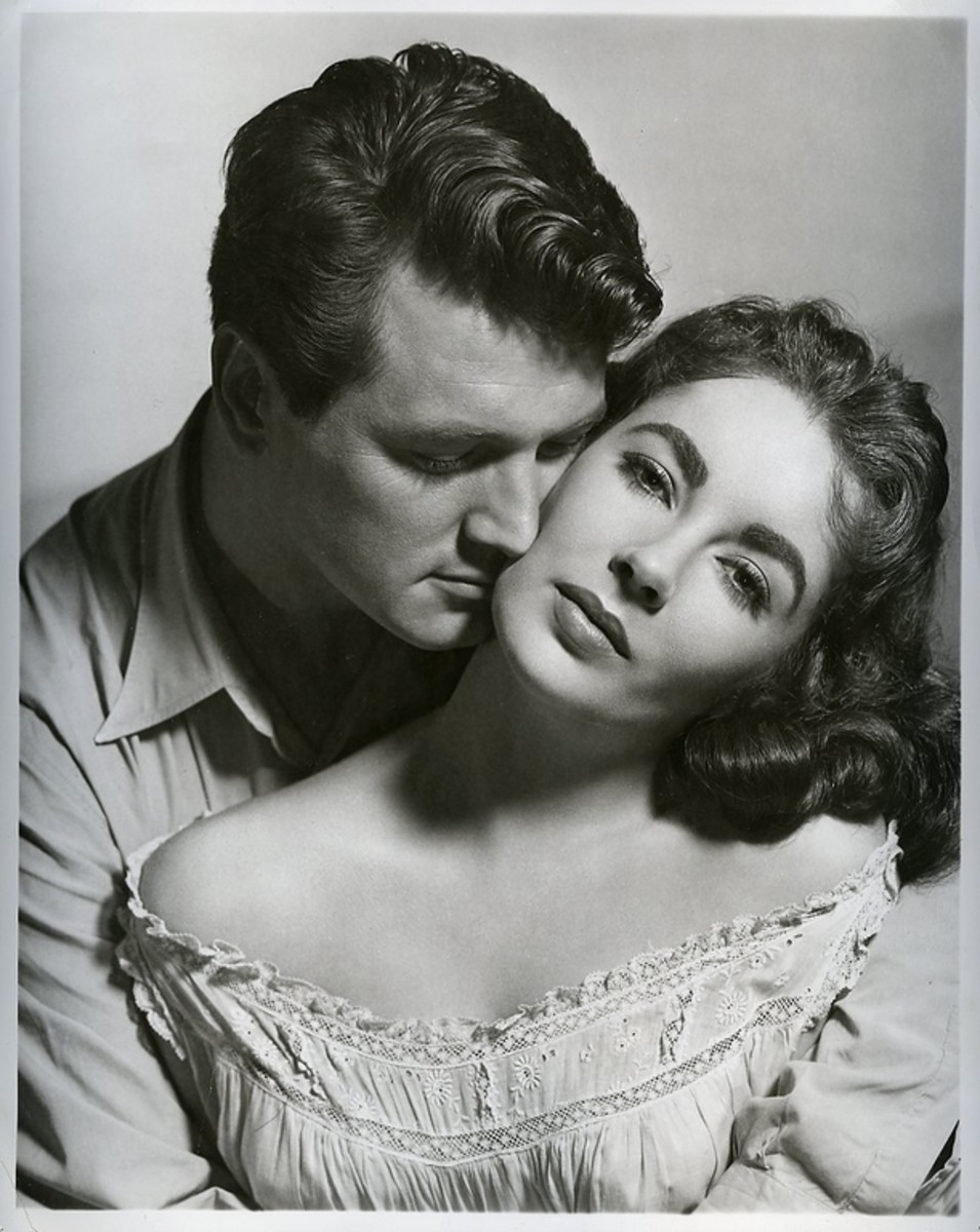 With Rock Hudson in Giant!