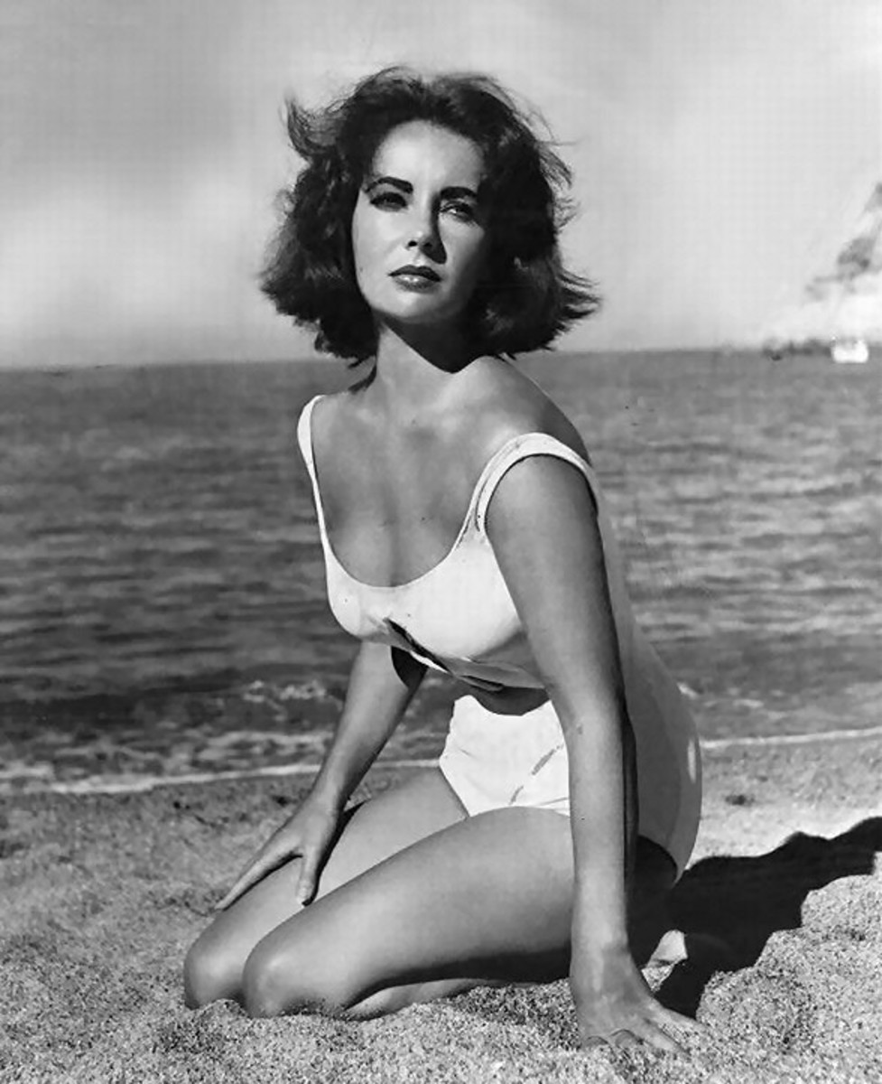 Liz in Suddenly, Last Summer
