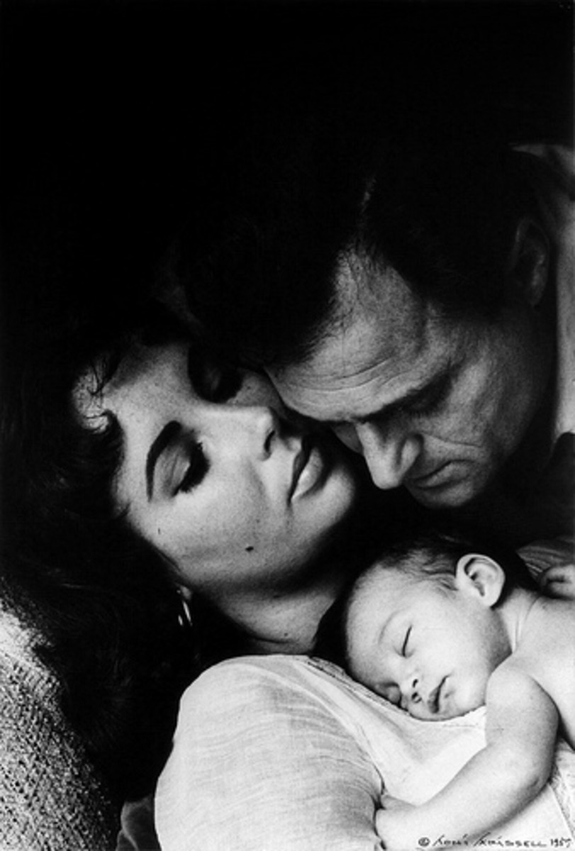 No:3 Michael Todd - Elizabeth, Michael and daughter 'Liza'