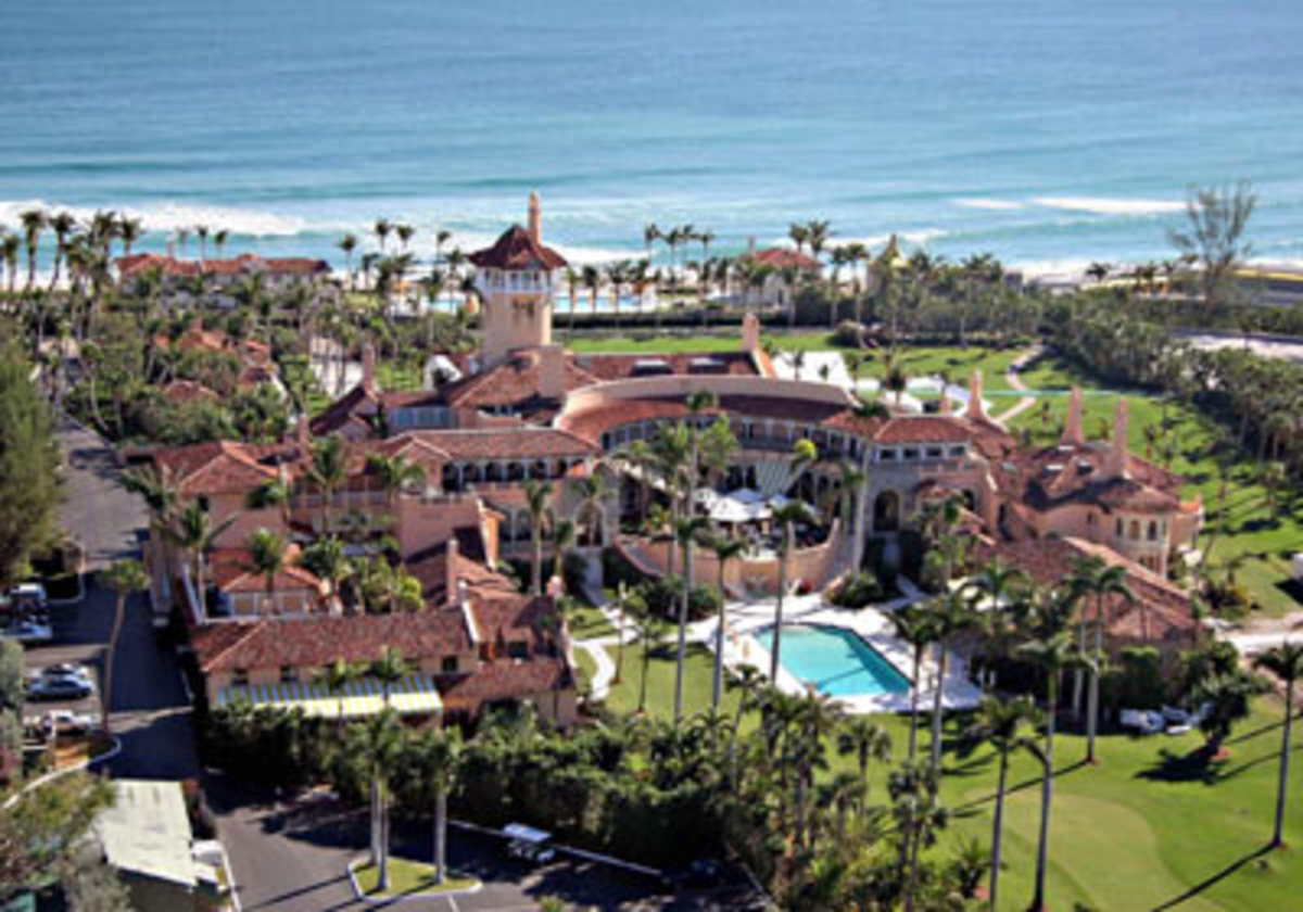 Homes of the rich and famous
