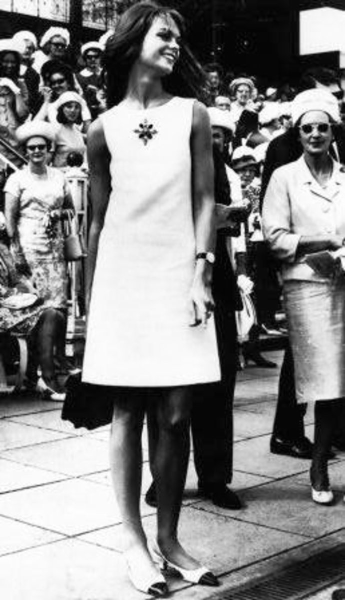 Jean Shrimpton's infamous Melbourne Cup dress