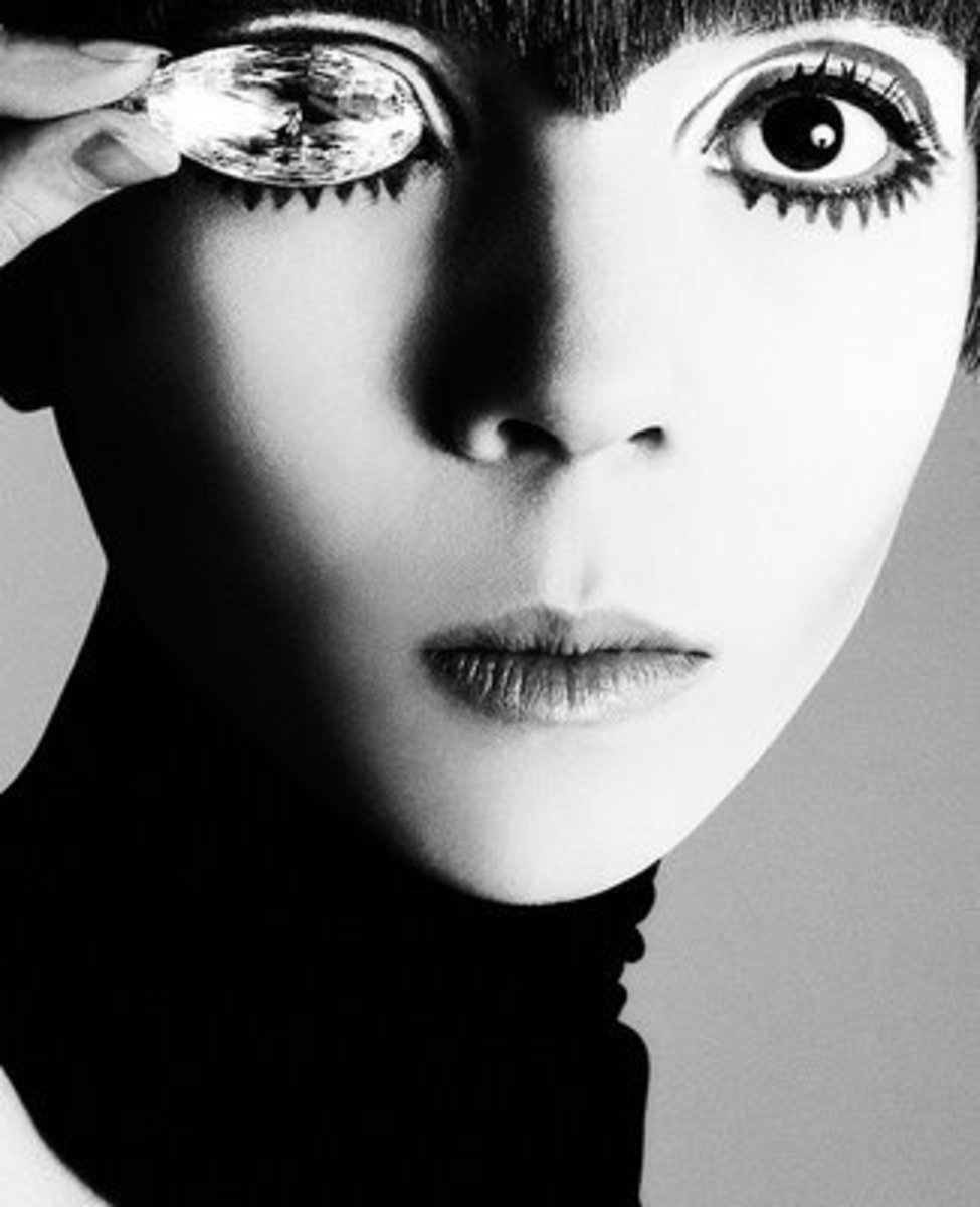 Classic 60's. Penelope Tree. Image by Avedon